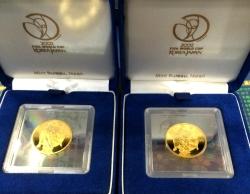 ワールドカップ記念金貨買取事例